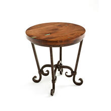 Steel Traditions - Verona Round End Table