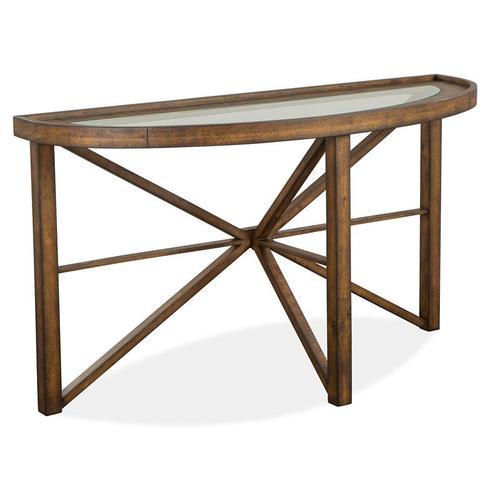 Magnussen Home - Demilune Sofa Table