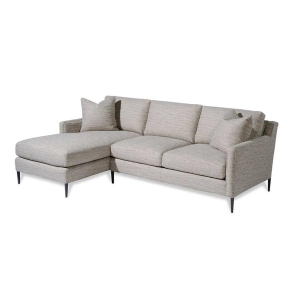 Fleming Sectional-Carbon