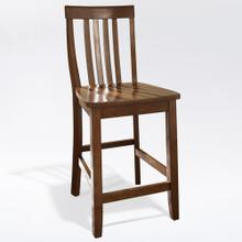 SCHOOL HOUSE 2PC COUNTER STOOL SET