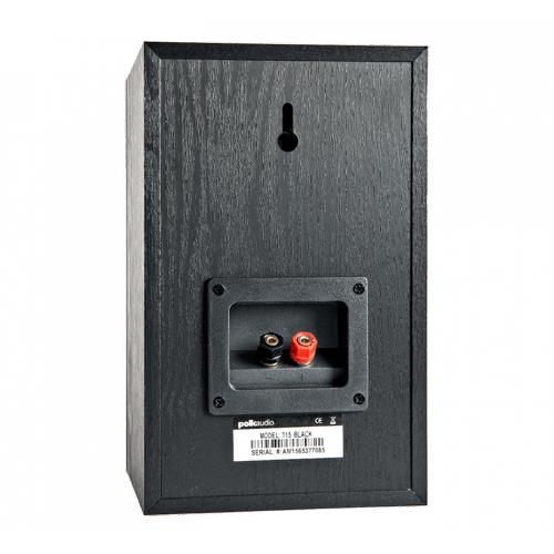 Home Theater and Music Bookshelf Speaker in Black
