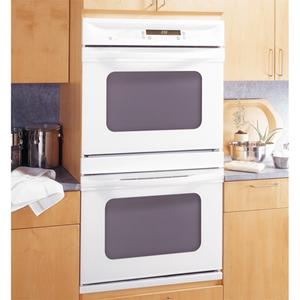 """GE Profile 30"""" Built-In Double Convection/Thermal Wall Oven"""