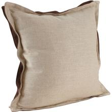 #2 Df Double Flange Square Throw Pillow