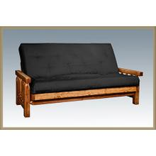 Homestead Futon with Mattress, Stained and Lacquered