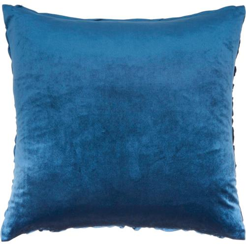 "Life Styles L0066 Navy 22"" X 22"" Throw Pillow"
