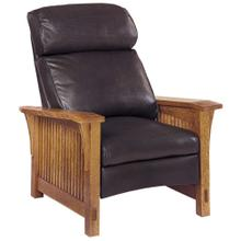 View Product - Recliner Bustle Back Upholstery, Cherry Spindle Morris Recliner