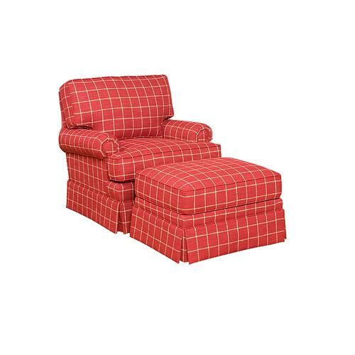 Kelly Swivel Chair, Kelly Ottoman