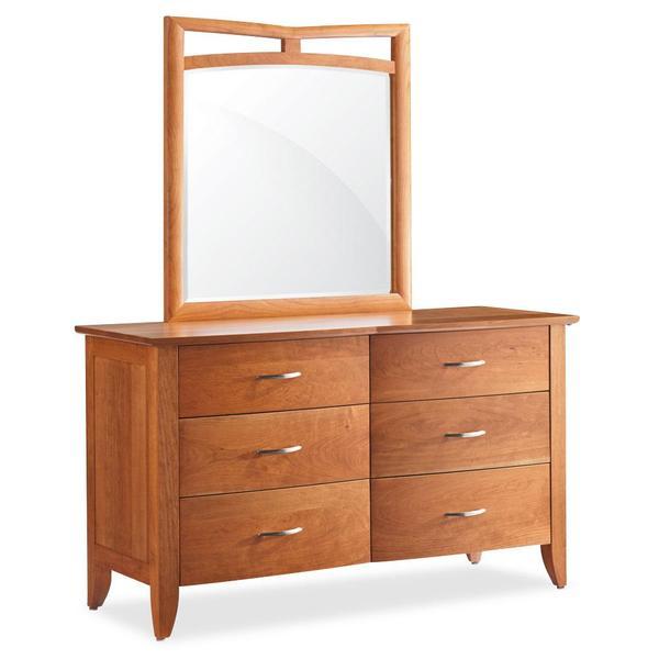 See Details - Monarch 6-Drawer Dresser, 60'w x 22 'd x 34 'h