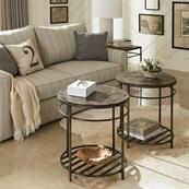 Hillcrest - Round Side Table - Cardamom Finish