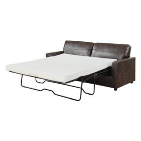 Slumber Queen Sleeper Sofa, Coffee U3215-50-25