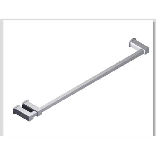 "Loft 24"" Double Post Towel Bar SQU + Safire Escutcheon Chrome"