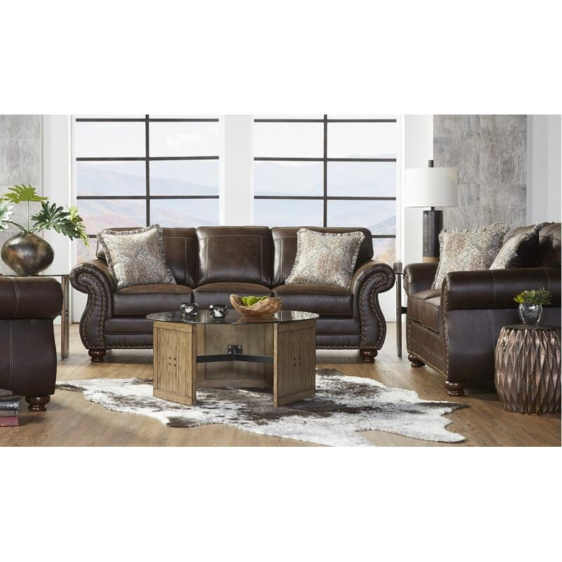 View Product - Ridgeline Brownie Sofa & Loveseat