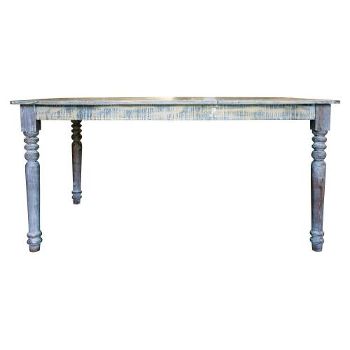 Capris Furniture - Dining Table, Available in Recycled Finish only.