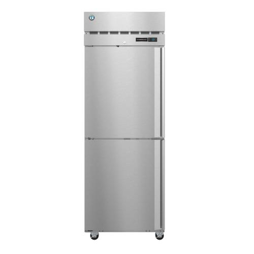 Hoshizaki - F1A-HSL, Freezer, Single Section Upright, Half Stainless Doors with Lock