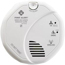 Wireless Interconnected Smoke & Carbon Monoxide Alarm with Voice & Location