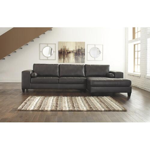 Signature Design By Ashley - Nokomis 2-piece Sectional With Chaise