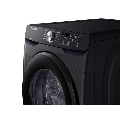 4.5 cu. ft. Front Load Washer with Vibration Reduction Technology+ in Black Stainless Steel