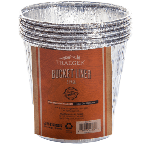 Traeger Grills - Traeger Bucket Liners - 5 Pack