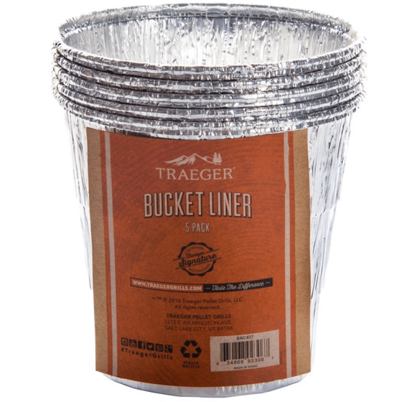 Traeger Bucket Liners - 5 Pack