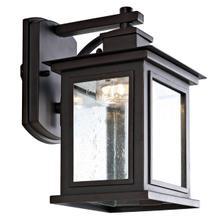See Details - Gorgen Outdoor Wall Lantern - Oil Rubbed Bronze (black)