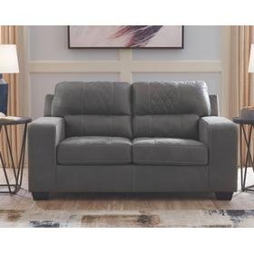 Narzole Loveseat Dark Gray