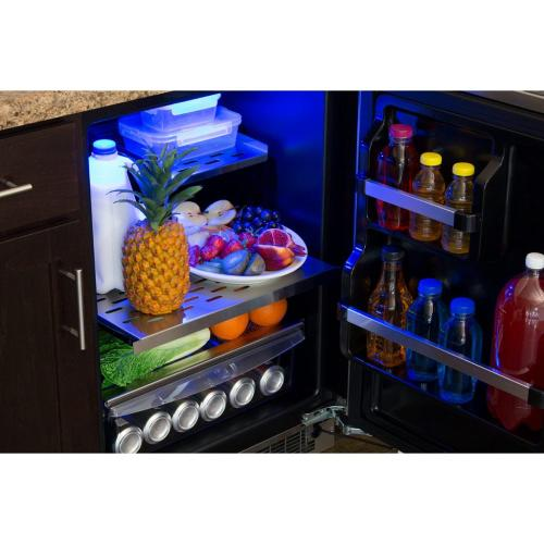 """Marvel Professional 24"""" All Refrigerator with Drawer Storage - Integrated Right Hinge (handle not included)*"""