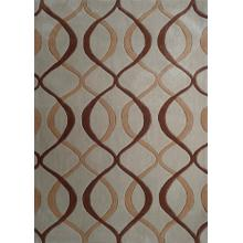 Durable Hand Tufted Transition TF65 Area Rug by Rug Factory Plus - 5' x 7' / Beige