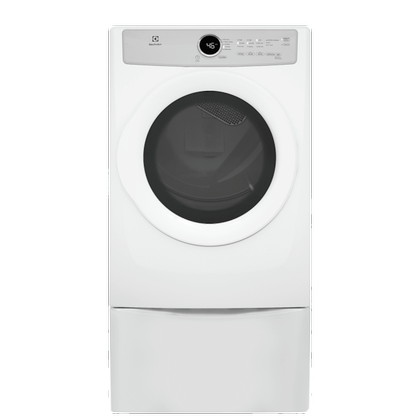 See Details - Front Load Gas Dryer with 5 cycles - 8.0 Cu. Ft.