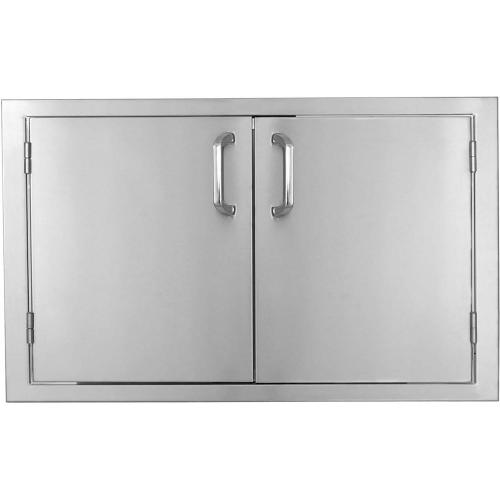 "4-Burner 30"" Double Access Door with PT Holder"