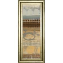 """Movement Panel Il"" By Jeni Lee Framed Print Wall Art"