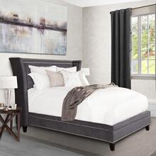 Leah Granite Upholstered Bed Collection