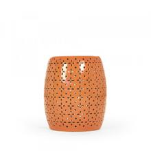 Lovell Garden Stool Orange