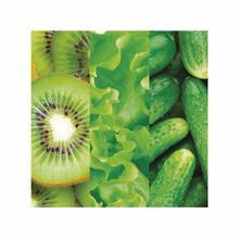 Kiwi-lettuce-cucumber Fine Wall Art