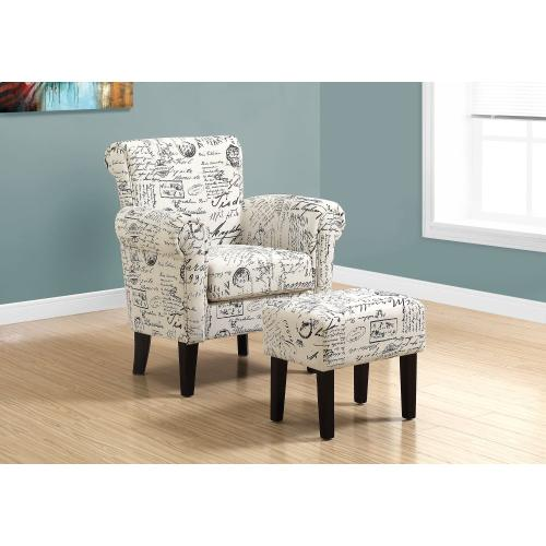 Gallery - ACCENT CHAIR - 2PCS SET / VINTAGE FRENCH FABRIC