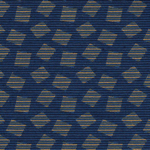 Crown Back Banquet Chair in Scatter Bismark Fabric - Silver Vein Frame