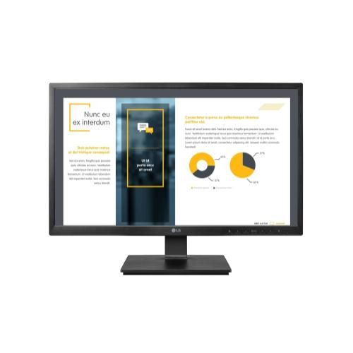 """LG - 24"""" FHD IPS All-in-One Thin Client with Windows 10 IoT Enterprise, TMP, VMware, Citrix, and MS RDP ready, AMD Pairie Falcon GX-212JJ Processor, 4GB DDR4, 32GB SSD, Built-in Speakers & Fanless Design"""