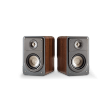 SIGNATURE SERIES COMPACT BOOKSHELF SPEAKERS (PAIR) in Classic Brown Walnut
