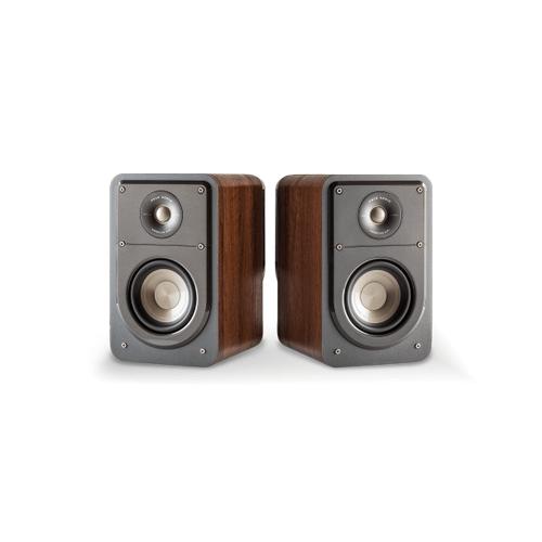 SIGNATURE SERIES COMPACT BOOKSHELF SPEAKERS (PAIR) in Classic Brown Walnut