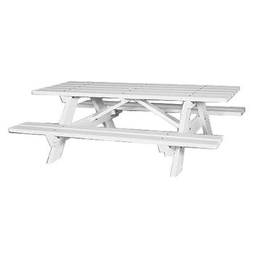Seaside Casual - Seaside Traditional Picnic Table (043)