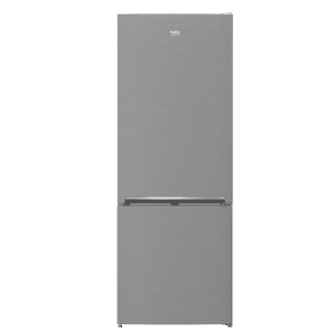 "Beko27"" Freezer Bottom Stainless Steel Refrigerator"