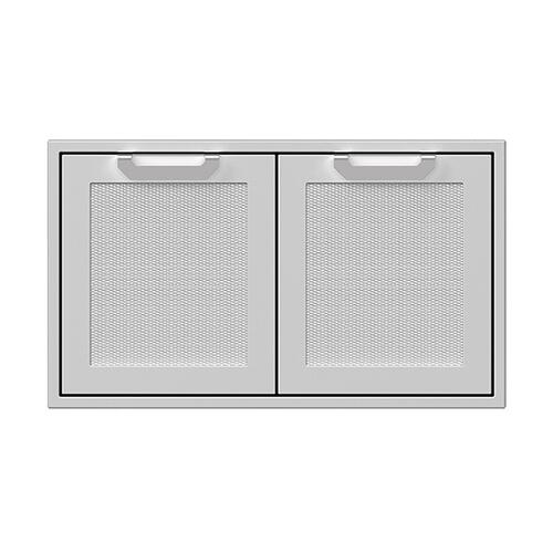 "36"" Hestan Outdoor Double Storage Doors - AGSD Series - Sol"