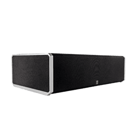 "High-Performance Center Channel Speaker with Integrated 8"" Bass Radiator"
