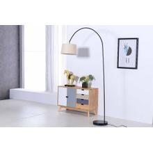 See Details - 2800 BLACK Arc Floor Lamp