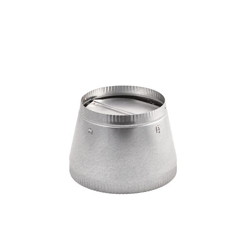 BEST Range Hoods - 10-Inch to 8-Inch Reducer-damper, use with Model 504 (includes damper)