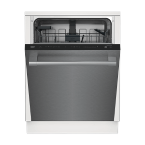 BekoTall Tub Stainless Dishwasher, 14 place settings, 45 dBa, Top Control