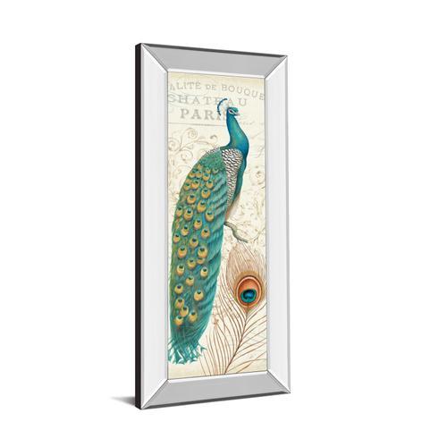 "Classy Art - ""Majestic Beauty I"" By Daphne Brissonnet Mirror Framed Print Wall Art"