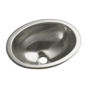 Oval Single Basin Self-Rimming/Undermount Entertainment Sink/Lavatory Product Image