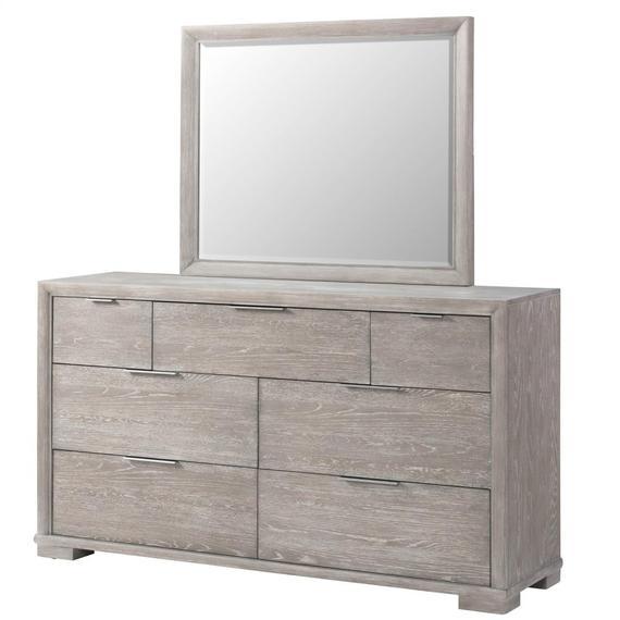 Riverside - Remington - Mirror - Urban Gray Finish