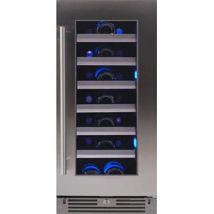XO APPLIANCE15in Wine Cellar SS Glass RH
