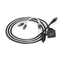 See Details - Combo 3.5 mm Audio Jack and 9 Wire USB Port for Panel-Mounting